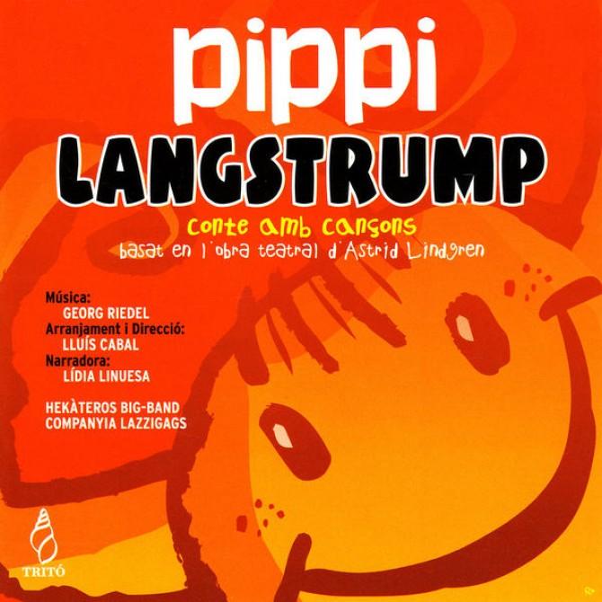 Pippi Langstrump. Conte amb cançons