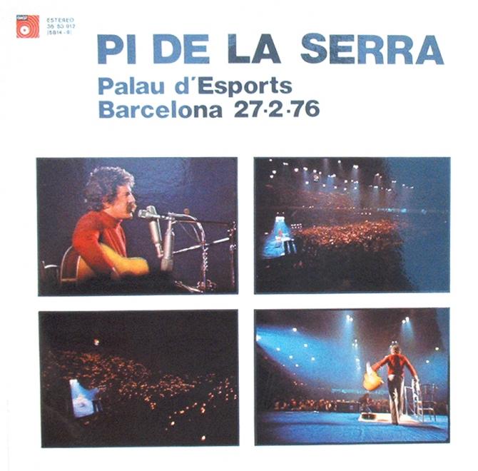 Palau d'Esports. Barcelona 27-2-76