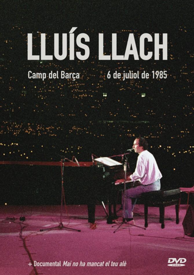 DVD Llach al Camp del Barça